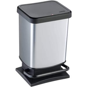 5.5折仅€21 不怕夏天的垃圾味Rotho Paso 防臭垃圾桶 20L带盖 带踏板 开关超静音 多色可选
