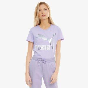 Puma香芋紫T恤
