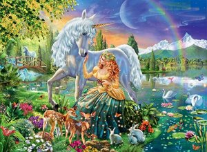 Ravensburger Gathering at Twilight 100 Piece Jigsaw Puzzle for Kids – Every Piece is Unique, Pieces Fit Together Perfectly