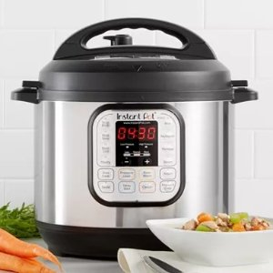 $49.99史低价:Instant Pot 7合1电压力锅热卖 6夸脱