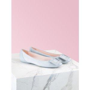 方扣芭蕾鞋
