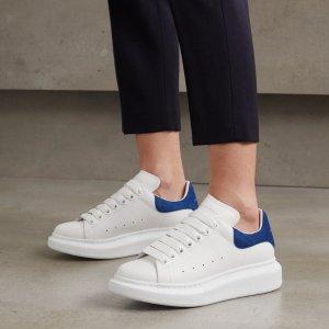 全场8折 小白鞋$438Alexander Mcqueen 闪促热卖 厚底小白鞋多色参加