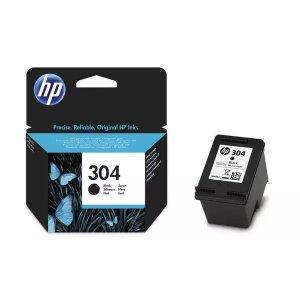 HP黑色、彩色、组合装打印机墨盒 304