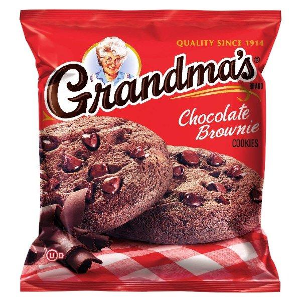 巧克力布朗尼曲奇 2.5oz. 60包装
