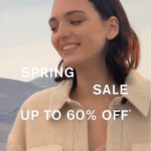4折起 皮衣£151起!折扣升级:Allsaints官网 春季大促再升级 春夏Style由你定义