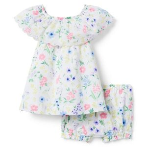 Janie and JackFloral Matching Set
