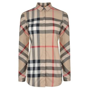 Burberry格纹衬衫