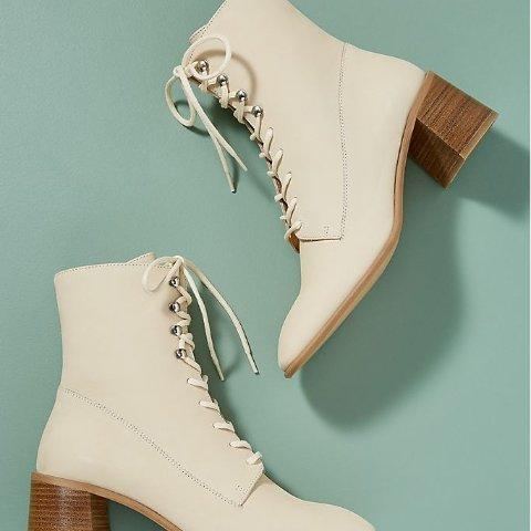 低至2折 £100收封面款Anthropologie 配饰专区大促 临近秋天来双短靴