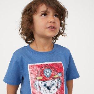低至3折+额外8折+无门槛包邮H&M 儿童服饰、鞋履夏季大促 全是白菜价