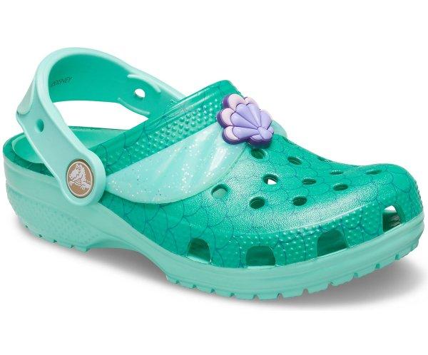 儿童 美人鱼公主洞洞鞋