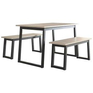 工业风餐桌餐椅