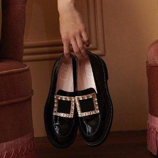 无门槛8折 收超人气封面款上新:Roger Vivier 精选方扣美鞋专场 超仙超优雅