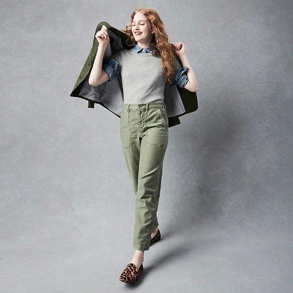 工装休闲裤