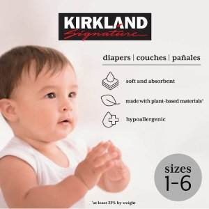 $7.5 Off + Free ShippingEnding Soon: Kirkland Signature Diapers Sizes 1-6