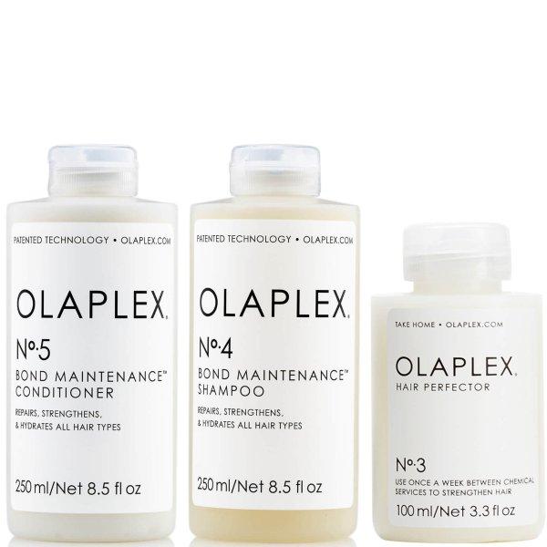 3号发膜+4号洗发水+5号护发素套装