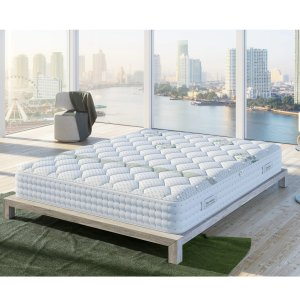 via coupon code DEALMOON40Olive Oil 12-inch hybrid mattress Queen