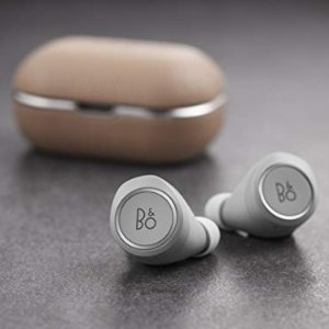 裸色皮质外壳无线蓝牙耳机