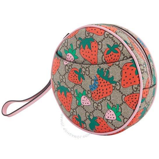 GG Supreme草莓零钱包
