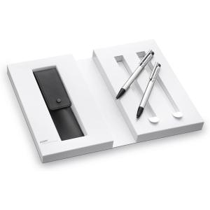 售价€24.95 可镭射自定义文字哦LAMY 凌美 圆珠笔+自动铅笔 礼盒套装 为TA定制礼物吧!