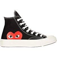 CDG x CONVERSE 小红心帆布鞋
