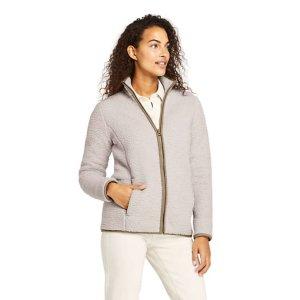 Lands' EndWomen's Cozy Sherpa Fleece Jacket