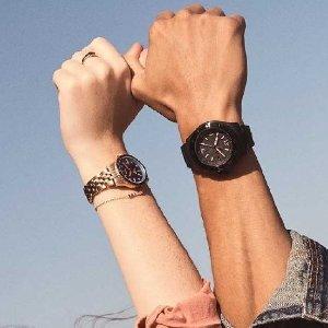 3折起+免邮 $61收绿水鬼平替Fossil 手表专场 $52收运动腕表 $62收粉嫩女表