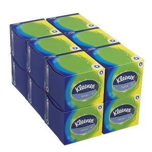 Kleenex 8825 方盒面巾纸 12盒x56抽 6.3折特价
