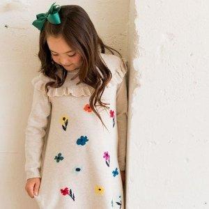 低至4折 T恤$9.99起,睡衣$19.99Hanna Andersson 全站童装季末大促 一年仅2次
