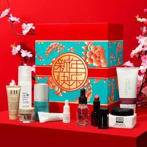 折扣升级:LF 2020中国新年春意繁花礼盒 7折,含5件正装+3件中小样
