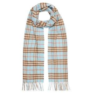 Burberry羊绒围巾