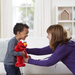 $19(原价$31.99)Sesame Street 芝麻街 Tickle Me Elmo 玩偶
