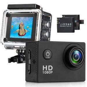 $34.99 (原价$169.99)闪购:T-mars 140度广角高清运动摄像机