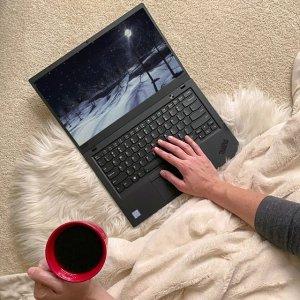 $949 工作日次日发货史低价:ThinkPad X1 Carbon 7 超极本 (i7-8565U, 16GB, 256GB)