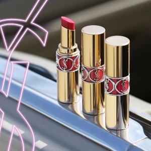送6件套 + 哑光唇釉YSL 母亲节超值套装上线 满额送总价超$167豪礼