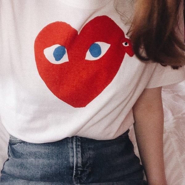 小爱心T恤