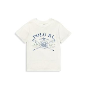 Ralph LaurenRalph Lauren - Little Boy's Graphic Cotton Jersey Tee