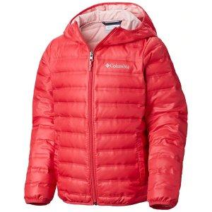 Columbia儿童羽绒外套