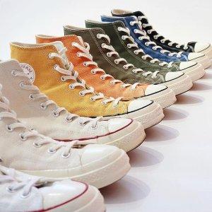 低至5折+额外6折+无门槛包邮Converse官网 精选帆布鞋、潮拖等折上折