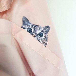 6.5折+满额送礼 口袋猫咪卫衣、衬衫$58最后一天:Paul & Joe SISTER 全场大促 多款猫咪T恤$29 丝质衬衫$48