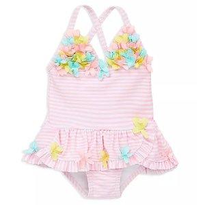 5.3折+额外7.5折Little Me 高品质婴儿服饰热卖 封面3D花朵泳衣好美丽