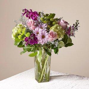 薰衣草+花瓶
