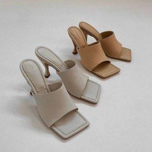 6折起 $120收低跟一字带凉鞋Tony Bianco 澳洲小众网红品牌 BV云朵鞋平替仅$80