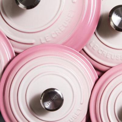 8折   Chasseur粉色铸铁锅降$450