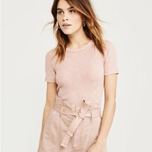 3 For $39Tees Sale @ Abercrombie & Fitch
