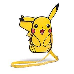 PokemonPikachu Faux Leather Crossbody Purse