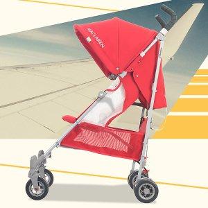 低至3.1折+免税Maclaren 儿童轻便童车特卖 收Kimi同款Volo