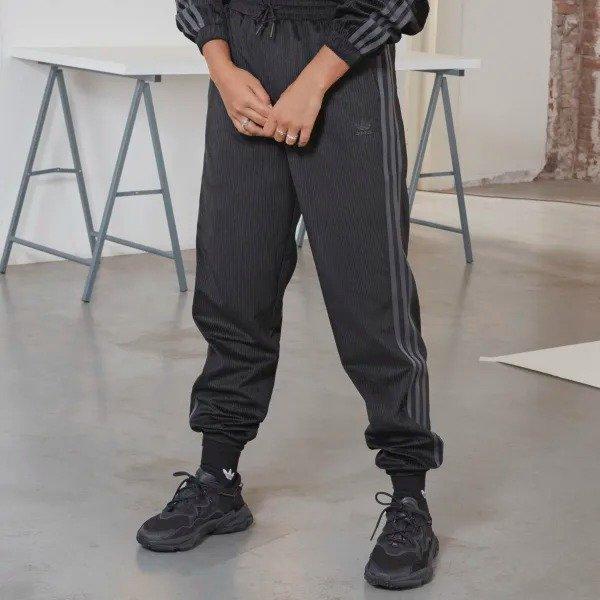 天鹅绒/灯芯绒运动裤