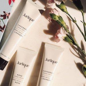 无门槛8.5折Jurlique 护肤热卖 收玫瑰护手霜、新臻萃活颜活肤系列
