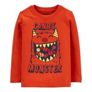 OshKosh B'gosh小怪物图案 小童T恤