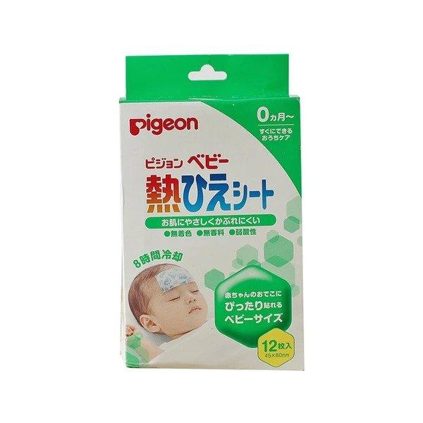 贝亲 新生儿婴儿宝宝 婴儿退热贴 12枚入
